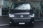 2015 Volkswagen Multivan T5 MY15 TDI400 DSG Highline Black 7 Speed Sports Automatic Dual Clutch Tweed Heads South Tweed Heads Area Preview