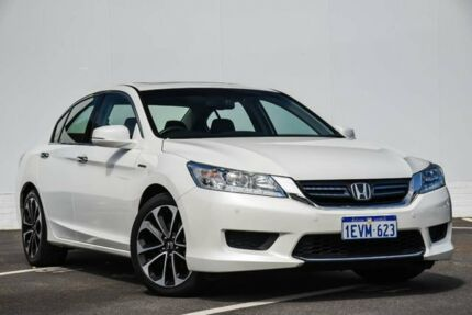 2015 Honda Accord 9th Gen MY15 Sport Hybrid White 1 Speed Constant Variable Sedan Hybrid Maddington Gosnells Area Preview