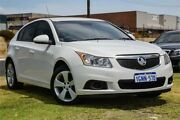 2013 Holden Cruze JH Series II MY13 Equipe White 6 Speed Sports Automatic Hatchback Wangara Wanneroo Area Preview