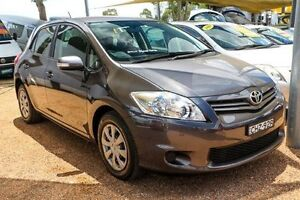 2012 Toyota Corolla ZRE182R Ascent Grey 6 Speed Manual Hatchback Colyton Penrith Area Preview