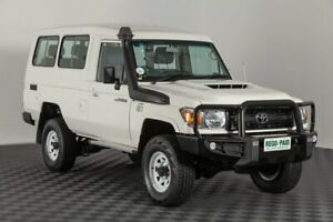 2017 Toyota Landcruiser VDJ78R Workmate Troopcarrier French Vanilla 5 Speed Manual Wagon Acacia Ridge Brisbane South West Preview