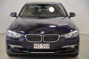 2012 BMW 328I F30 F30 Blue 8 Speed Sports Automatic Sedan Mansfield Brisbane South East Preview