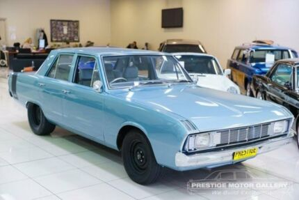 1970 Chrysler Valiant VG Regal Sky Blue Automatic Sedan