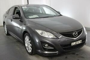 2012 Mazda 6 GH1052 MY12 Touring Grey 5 Speed Sports Automatic Hatchback Maryville Newcastle Area Preview