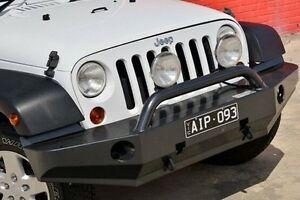 2013 Jeep Wrangler JK MY2014 Unlimited Sport White 6 Speed Manual Softtop Pakenham Cardinia Area Preview