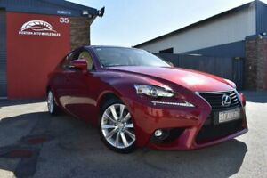 2014 Lexus IS GSE30R IS250 Luxury Red 6 Speed Sports Automatic Sedan Cannington Canning Area Preview