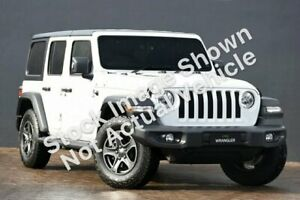 2019 Jeep Wrangler JL Unlimited Sport S White Automatic Horsham Horsham Area Preview