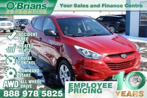 2014 Hyundai Tucson GL - Accident Free w/AWD, Command Start