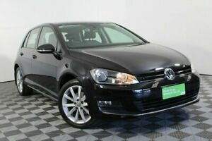 2016 Volkswagen Golf VII MY16 110TDI DSG Highline Black 6 Speed Sports Automatic Dual Clutch Wayville Unley Area Preview