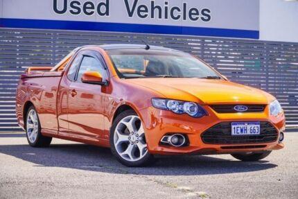 2012 Ford Falcon FG MkII XR6 Ute Super Cab Turbo Orange 6 Speed Sports Automatic Utility Maddington Gosnells Area Preview