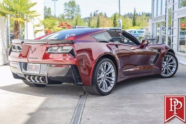 2016 Red Chevrolet Corvette Z06 2LZ | C7 Corvette Photo 2