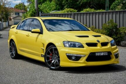2012 Holden Special Vehicles Clubsport E Series 3 MY12 R8 Yellow 6 Speed Sports Automatic Sedan
