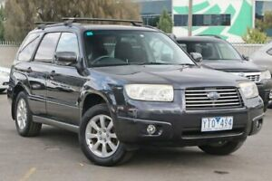 2007 Subaru Forester 79V MY08 XS AWD Grey 5 Speed Manual Wagon Docklands Melbourne City Preview