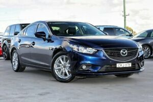 2013 Mazda 6 GJ1031 Touring SKYACTIV-Drive Blue 6 Speed Sports Automatic Sedan Liverpool Liverpool Area Preview