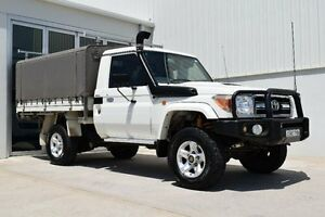 2007 Toyota Landcruiser White 5 Speed Manual Utility Rutherford Maitland Area Preview