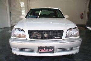 1999 Toyota Crown White Automatic Sedan