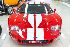2001 Ford GT40  Red Manual Coupe Carss Park Kogarah Area Preview