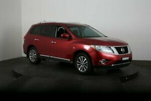 2014 Nissan Pathfinder R52 ST-L (4x4) Red Continuous Variable Wagon McGraths Hill Hawkesbury Area Preview