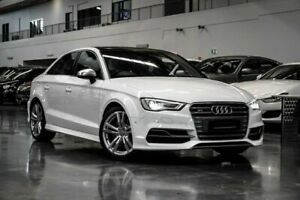 2015 Audi S3 8V (No Badge) White Sports Automatic Dual Clutch Westmeadows Hume Area Preview