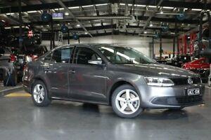 2014 Volkswagen Jetta 1B MY14 118TSI DSG Grey 7 Speed Sports Automatic Dual Clutch Sedan