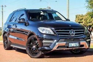 2013 Mercedes-Benz ML350 W166 BlueEFFICIENCY 7G-Tronic + Black 7 Speed Sports Automatic Wagon Wangara Wanneroo Area Preview