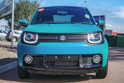 2017 Suzuki Ignis MF GLX White 1 Speed Constant Variable Hatchback