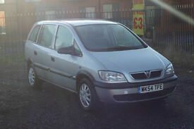 Vauxhall Zafira 1.6 (Cheap 7 seater with long MOT and new timing belt)