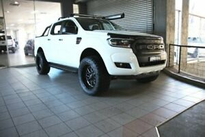 2018 Ford Ranger PX MkII MY18 XLS 3.2 (4x4) (5 Yr) White 6 Speed Automatic Dual Cab Utility Thornleigh Hornsby Area Preview
