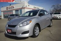 2012 Toyota Matrix MANAGER'S SPECIAL