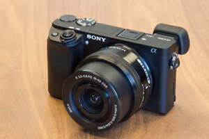 Sony a6300 Mirrorless Camera with 16-50mm OSS Lens Kit