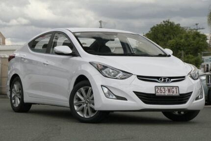 2015 Hyundai Elantra MD3 SE White 6 Speed Sports Automatic Sedan