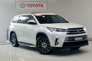 2018 Toyota Kluger GSU55R Grande AWD White 8 Speed Sports Automatic Wagon Waterloo Inner Sydney Preview
