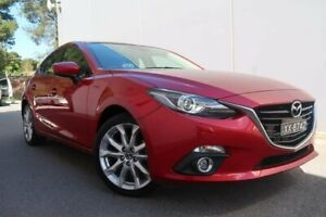 2015 Mazda 3 BM5438 SP25 SKYACTIV-Drive GT Red 6 Speed Sports Automatic Hatchback Old Reynella Morphett Vale Area Preview