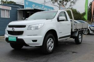2015 Holden Colorado RG MY16 LS (4x2) White 6 Speed Automatic Cab Chassis