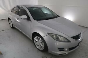 2008 Mazda 6 GH1051 Classic Silver 6 Speed Manual Sedan Hamilton North Newcastle Area Preview