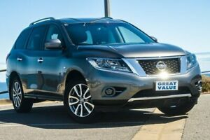 2016 Nissan Pathfinder R52 Series II MY17 ST X-tronic 4WD Silver 1 Speed Constant Variable Wagon