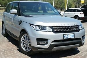 2016 Land Rover Range Rover Sport L494 16.5MY TdV6 CommandShift SE Indus Silver 8 Speed Pearce Woden Valley Preview