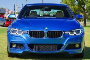 2017 BMW 320D F30 LCI M Sport Blue 8 Speed Sports Automatic Sedan