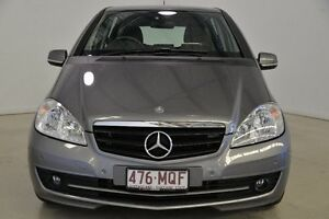 2009 Mercedes-Benz A180 W169 MY10 Classic Grey 7 Speed Constant Variable Hatchback Mansfield Brisbane South East Preview