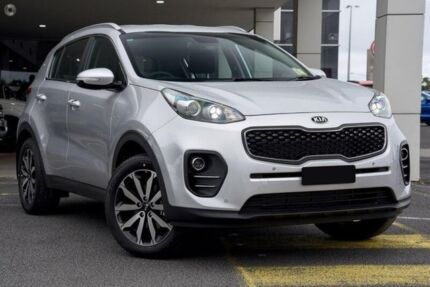 2018 Kia Sportage QL AO Edition Sparkling Silver 6 Speed Automatic Wagon West Gladstone Gladstone City Preview