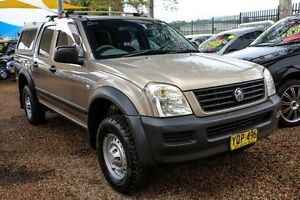 2003 Holden Rodeo RA LX Crew Cab Gold 4 Speed Automatic Utility Minchinbury Blacktown Area Preview