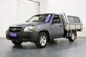 2007 Mazda BT-50 B2500 DX Grey 5 Speed Manual Cab Chassis Oakleigh Monash Area Preview
