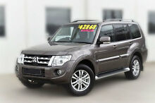 2013 Mitsubishi Pajero NW MY13 VR-X Bronze 5 Speed Sports Automatic Wagon Pakenham Cardinia Area Preview