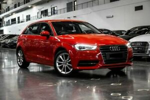2015 Audi A3 8V Attraction Red Sports Automatic Dual Clutch Westmeadows Hume Area Preview