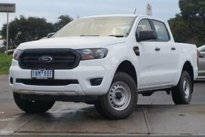 2018 Ford Ranger PX MkIII 2019.00MY XL Pick-up Double Cab White 6 Speed Sports Automatic Utility Brighton Bayside Area Preview