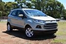 2014 Ford Ecosport BK Trend PwrShift Silver 6 Speed Sports Automatic Dual Clutch Wagon