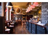 Floor Staff Needed for big East London pub
