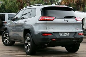 2014 Jeep Cherokee KL Trailhawk (4x4) Silver 9 Speed Automatic Wagon Dee Why Manly Area Preview