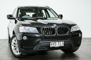 2013 BMW X3 F25 MY0413 xDrive20d Steptronic Black 8 Speed Automatic Wagon Rozelle Leichhardt Area Preview