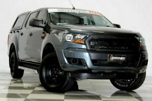 2016 Ford Ranger PX MkII XL 2.2 Hi-Rider (4x2) Grey 6 Speed Automatic Crew Cab Pickup Burleigh Heads Gold Coast South Preview
